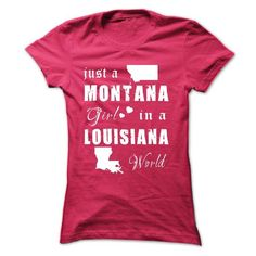 MONTANA GIRLS IN LOUISIANA WORLD T Shirts, Hoodies. Check price ==► https://www.sunfrog.com/States/MONTANA-GIRLS-IN-LOUISIANA-WORLD-HotPink-15171838-Ladies.html?41382 $19.99