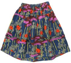 Liberty Print Viscose Skirt