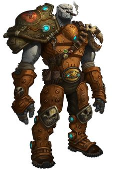 Granok Male/WildStar Looks like a perfect Goliath character lol