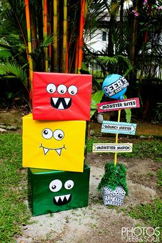 Monster Birthday Theme - Qeeb 3yo by soulie, via Flickr