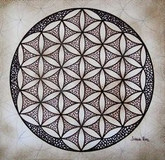Flower Of Life IIi Painting  - Flower Of Life IIi Fine Art Print