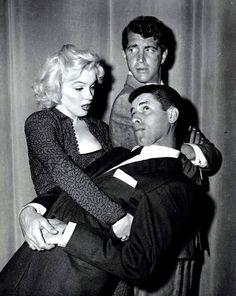 Marilyn Monroe , Dean Martin & Jerry Lewis