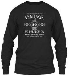 Vintage Aged 50 Years Birthday T-Shirt