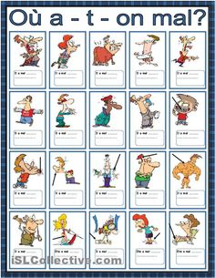 Learn French Worksheets Free Printable Printing Education For Kids Printer French Expressions, French Language Lessons, French Language Learning, French Lessons, English Language, French Teaching Resources, Teaching French, How To Speak French, Learn French