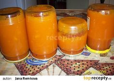 Marmeláda z mrkve recept - TopRecepty.cz Baby Food Recipes, Low Carb Recipes, Vegan Recipes, Healthy Eating Tips, Healthy Nutrition, Marmalade Jam, Homemade Jelly, Home Canning, Vegetable Drinks
