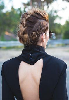 Native Fox: Ada, hair goals. Braids. Blogger style.