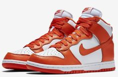 newest 203eb 90ff1 Take a look at official images of the Syracuse colorway of the Nike Dunk  High that will be releasing in the near future.