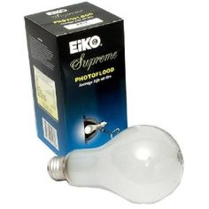 Eiko ECT 120v 500w Photo Flood Lamp by Eiko. $7.98. 500-watt Photo Flood, Edison Screw Base, Frosted, 13,000 Lumens, 3200 Degrees Kelvin, 60 Hours. 120 Volt, can operate in any position.