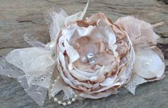 Chantilly Lace cream ivory girls boutique por MissBYOB en Etsy