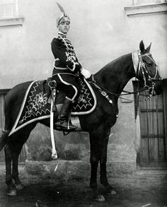 Bulgarian Life Guard cavalry regiment, early 20th Century