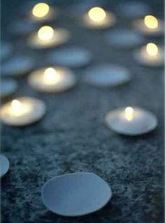 porcelain discs by parma lilac.