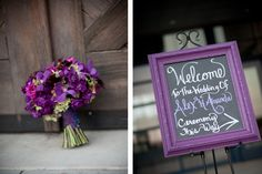 This is how you make your purple pop at your wedding!