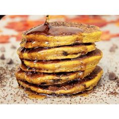 The Spice and Tea Exchange of Fort Collins can help you get ingredients needed to make these delicious pancakes!!!! While you're there, check out the many other recipes and delicious products they have!!!   Cocoa Spiced Pumpkin Pancakes - Recipes