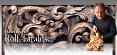 Master carver Rolf Taraldset