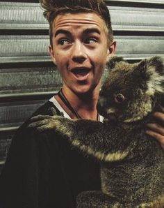 this is the cutest thing ever asdfghjkl OHMYGOSH!!!!! KOALAS ARE MY BAE! AND SO IS JACK!!!!!!! LIKE TO MUCH CUTENESS!!!!!!! FANGIRLING SO HARD!!!!!!