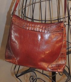 Hey, I found this really awesome Etsy listing at https://www.etsy.com/listing/176689861/vintage-brahmin-tuscan-brown-smooth