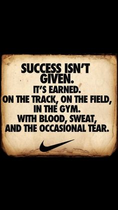 Nike sports quote