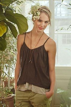 #Layered #Willow #Cami #Anthropologie