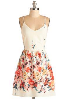 Calling All Wildflowers Dress | Mod Retro Vintage Dresses | ModCloth.com