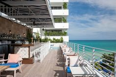 London's members-only Soho House has opened a fabulous new location in Miami, Florida. Soho Beach House is a private members club, hotel a. Rooftop Restaurant, Rooftop Bar, Soho Beach House Miami, Soho House Group, Wythe Hotel, Gothic Buildings, Ace Hotel, Thing 1, Travel And Leisure