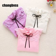 Spring Autumn Girls Kids Sweatshirt Girls Long Sleeve Bottoming T-shirt Baby Girl Clothes Children Hoodies Tops Kids Clothing #Affiliate
