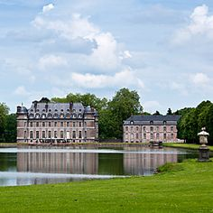 Belgium is home to over 3000 castles and the Château de Beloeil is one of the most famous.