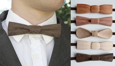 Carved Wooden Bow Ties are truly unique, stay classy with one of the designer range by Sanderson Design.