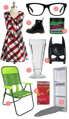 """Shopping Guide to Pretending to Live in """"Ghost World."""" #TeamEnid"""