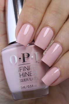 OPI Infinite Shine Summer Collection 2015 OPI You're Blushing Again