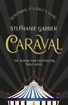 The UK paperback cover for Caraval, available November 2017!