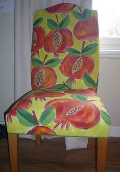 Pomegranate chair