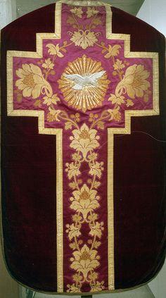 NEG021-02  Chasuble  Dutch  Date: c. 1840-1850