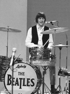 The Most Sought After Item In Entire Collection Is Undoubtedly Bands Ludwig Bass Drumhead Used On Ringo Starrs Drum Kit For Their Famous Debut