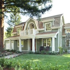 "Arch Studio, Inc.	  ""gorgeous dutch colonial""- addition architectural concept far right"