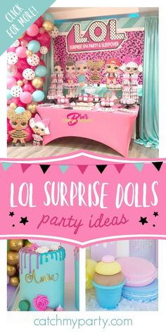 Sleepover Birthday Parties, Girls Birthday Party Themes, Birthday Activities, Party Activities, Girl Birthday, Birthday Ideas, Surprise Party Decorations, Doll Party, Spa Party