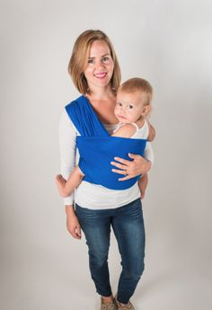 Finally, a gorgeous baby wrap that won't break the bank, allowing you to safely and stylishly carry your baby newborn on up.