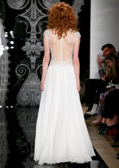 Reem Acra Wedding Dress Spring 2014 Bridal Zazoe