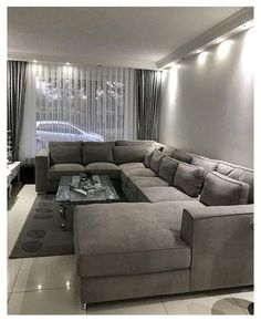Room Furniture Design, Living Room Sofa Design, Home Room Design, Living Room Modern, Home Living Room, Living Room Decor, Modern Furniture, Furniture Ideas, Small Living