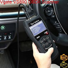 #VgateScanTool MaxiscanVS890 stands as the champion and able to work with numerous acclaimed OBD regulations which consist of the ISO, KWP, SAE and CAN.  So, don't hesitate to visit several online marketplaces in order to garner yours.