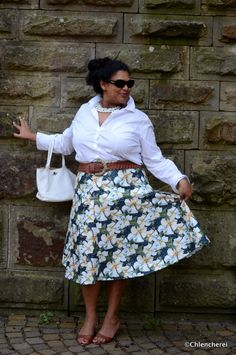 Chlencherei : Statement Skirt? Yes Please!