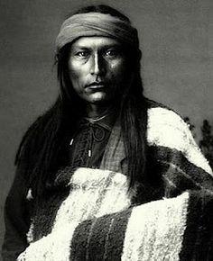 * Apache Tribe.  Naichez, a Chiricahua Apache