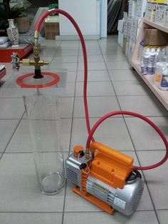 diameter x 40 cm height glass cylinder and vacuum pump for wood stabilizing. Other sizes of glass cylinders available for deep vacuum impregnation of dyes. Robotics Projects, Lathe Projects, Wood Turning Projects, Woodworking Projects, Stabilized Wood, Art And Craft Materials, Pen Turning, Vacuum Pump, Wood Lathe