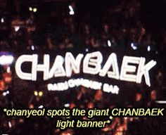 Chanyeol and Baekhyun (ChanBaek) #1/3 - CY spots 'ChanBaek' banner...