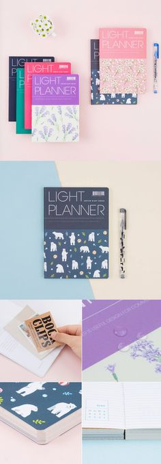 The 2018 Ardium Light Planner presents you a simple yet useful planner for your 2018! You can briefly write your plans, events, and projects on the Yearly and Monthly Plan sections, and write details on the Daily Plan section if needed. Carry this light and slim planner with you to organize your plans anytime anywhere!