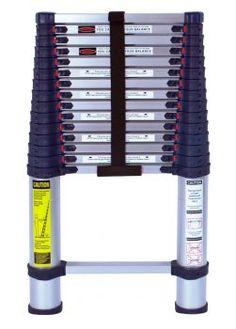 Foot Telescoping Aluminum Ladder Type I Professional Series by Xtend & Climb Aluminium Ladder, Aluminium Alloy, Best Ladder, Rv Travel Trailers, Rv Hacks, Hacks Diy, Life Hacks, Type I, Korea