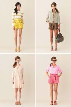 yellow shorts.