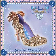 Irregular Choice Cinderella Gracious Dreamer Gold Light Up Sparkle Heel UK4-6.5 #IrregularChoice #CourtShoes