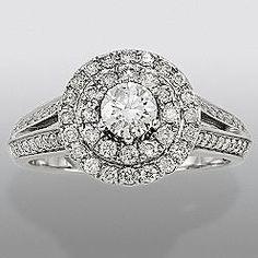 david tutera love this but thinner band david tuteradiamond engagement ringswedding - David Tutera Wedding Rings