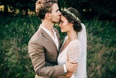 Wedding cute -  hippie  love