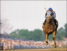 Secretariat- all alone once more. Legendary!